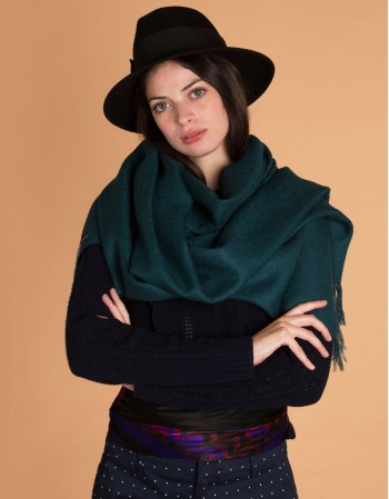 L'EMERAUDE wool scarf