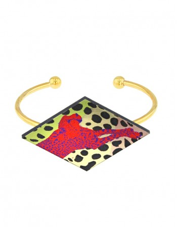 Bracelet Red Cheetah